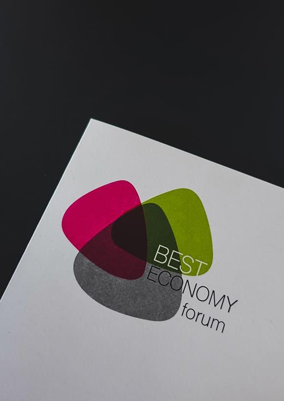 be-oh Marketing nachhaltige Agentur CI Best Economy forum